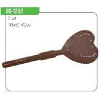"Форма для отливки шоколадных фигурок - ""Рифленое сердце на палочке"" (90-1202), шт."