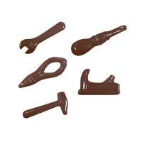 """Форма для отливки шоколадных фигурок - """"Столярные инструменты"""" (90-12682), шт."""