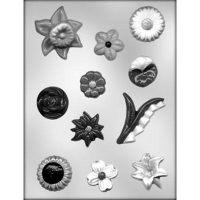 """Форма для отливки шоколадных фигурок - """"Цветы"""" (90-13062), шт."""