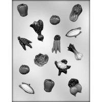 """Форма для отливки шоколадных фигурок - """"Овощи в ассортименте"""" (90-13324), шт."""