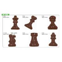 """Форма для отливки шоколадных фигурок - """"Шахматные фигурки"""" (90-13452), шт."""