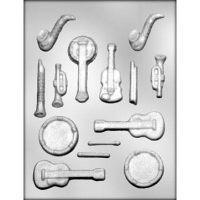 """Форма для отливки шоколадных фигурок - """"Музыкальные инструменты"""" (90-13912), шт."""