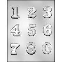 """Форма для отливки шоколадных фигурок - """"Цифры"""" (90-14243), шт."""