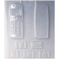 """Форма для отливки шоколадных фигурок - """"Телефон"""" (90-14666), шт."""