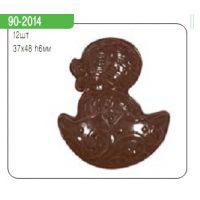 """Форма для отливки шоколадных фигурок - """"Цыпленок в скорлупе"""" (90-2014), шт."""
