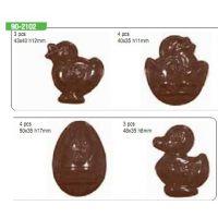 """Форма для отливки шоколадных фигурок - """"Животные"""" (90-2102), шт."""