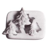 Форма силиконовая  ШУГАФЛЕКС ёлки, пакет 1 шт.