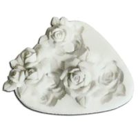 Форма силиконовая  ШУГАФЛЕКС розы, пакет 1 шт.