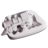 Форма силиконовая  ШУГАФЛЕКС паровоз, пакет 1 шт.