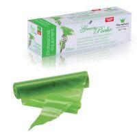 Мешок кондитерский п/э одноразовый зеленый 30 см, мешок 100 шт.