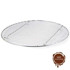 Решетка металлическая круглая d 400 мм, 1 шт.