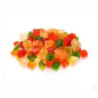 ЦУКАТЫ фруктовый салат 6х6 мм, 7 кг.