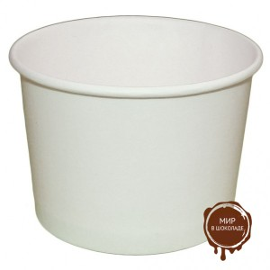Креманка бумажная белая 250 мл, 500 шт.
