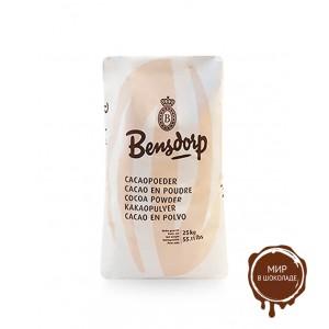 Какао-порошок Barry Callebaut Bensdorp 10-12%, 25 кг.