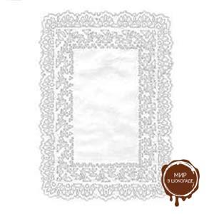 Салфетка бумажная прямоугольная 14х18 см. белая, 100 шт.