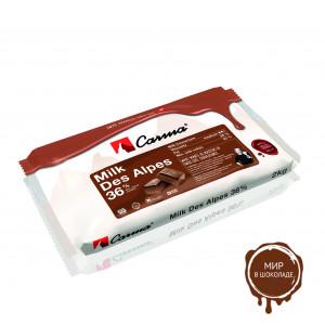 DES ALPES, МОЛОЧНЫЙ ШОКОЛАД В БЛОКЕ, 35 % какао, Carma Barry Callebaut /Швейцария/, 2 кг.