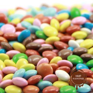 Украшения шоколадные Арлекино, пакет 1 кг.