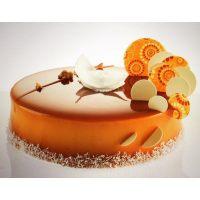 Покрытие-крем Шокодель апельсиновый вкус, 6 кг