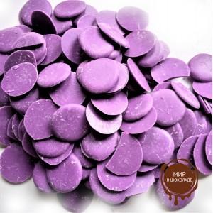 Кондитерская  глазурь фиолетовая со вкусом голубики, 6.5 кг.
