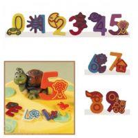 """Набор форм для создания шоколадных конфет с рисунком - """"Веселые цифры """"0-9"""", 2шт. (P20-C023), уп."""