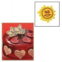 """Набор форм для создания шоколадных конфет с рисунком - """"Солнце"""", 2шт. (P20-C008), уп."""