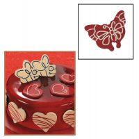 """Набор форм для создания шоколадных конфет с рисунком - """"Бабочка"""", 2шт. (P20-C010), уп."""