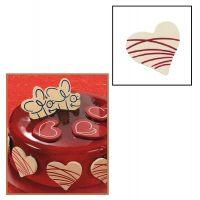 """Набор форм для создания шоколадных конфет с рисунком - """"Сердце с узором"""", 2шт. (P20-C015), уп."""