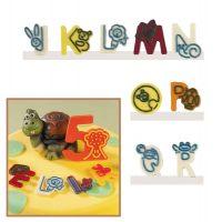 """Набор форм для создания шоколадных конфет с рисунком - """"Веселые буквы J-R"""", 2шт. (P20-C019), уп."""