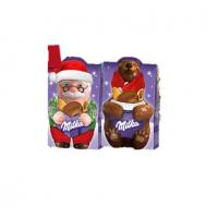Подарочный набор Milka Mix Санта и Медведица 152 гр, 18 шт.