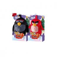 Подарочный набор шоколада Milka + игрушка Angry Birds 83 гр, 10 шт.