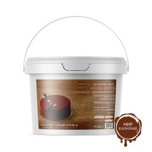 Крем для начинок и покрытий фундук-шоколад Novella Cream Cacao Hazelnut 6%, 5 кг.