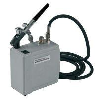 Аэрограф-краскораспылитель с компрессором (DECOCP01), 1 шт.