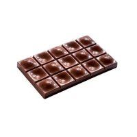 Форма для шоколадных плиток ОТПЕЧАТОК MA2008, 1 шт.