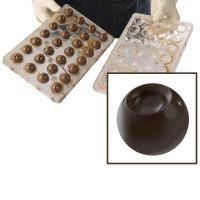 Форма для изготовления объемных конфет Сфера 20-3D2003, 1 шт.
