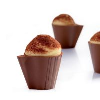 Форма для шоколадных конфет с наполнением Чашка, 1 шт.