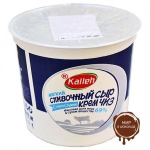 "Сыр ""CREAM CHEESE"" 69%  1.5кг ."