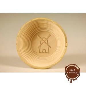Форма для расстойки теста из ротанга круглая мельница, 20 см