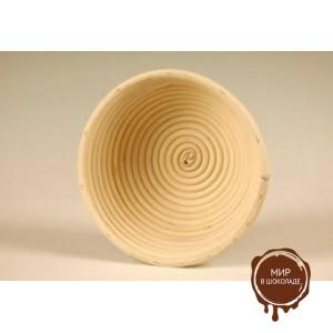 Форма для расстойки теста из ротанга круглая, 19 см