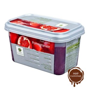 Замороженное пюре Гранат в блоке Ravifruit, Франция, 1 кг.