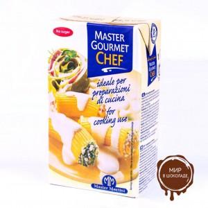 Сливки (крем на растительных маслах) Master Gourmet Chef , 1л*12 шт.