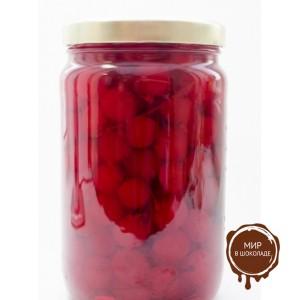 Вишня в сиропе коктейльная с палочкой красная MARASCHINO стекл. бан. 1,9л*4шт.