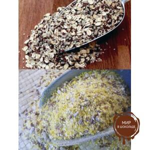 """Смесь зерновая для декорации хлебобулочных изделий """"Посыпка Зерновая 2"""" (10 кг)"""