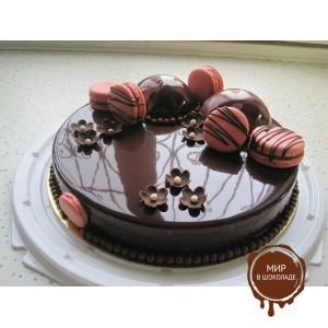 Meribel Декоративный гель холодного приготовления шоколадный, 6 кг.