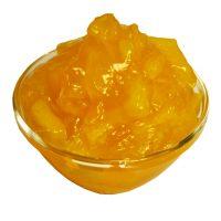 Начинка плодово-ягодная термо с крупными кусочками фруктов Персик 4.2.3.3, 20 кг.