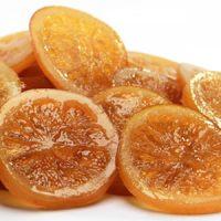 Лимонные засахаренные дольки Амброзио, короб 5 кг.