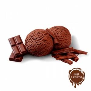 СЛИВОЧНОЕ МОРОЖЕНОЕ с темным шоколадом с содержанием 54% какао, 1,9 кг.