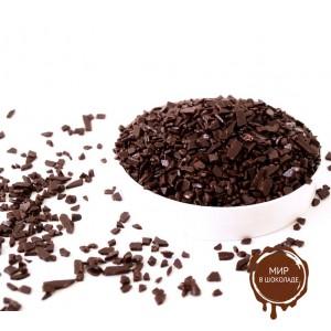 Натуральный шоколад в форме крошки Ariba Fondente Scagliette 20/22, 10*1 кг.