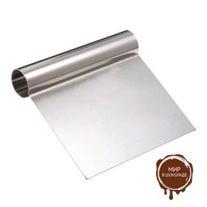 Шпатель кондитерский металлический 120x120 мм ( 1 шт.)
