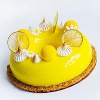 Декоративный гель холодного приготовления Лимон Meribel , 6 кг.