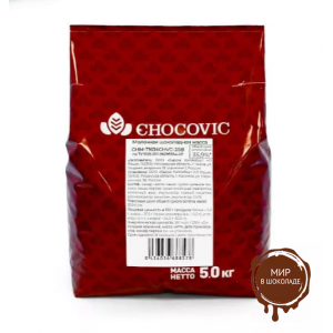 МОЛОЧНЫЙ ШОКОЛАД 35,9% CHOCOVIC в галетах , 5 кг.